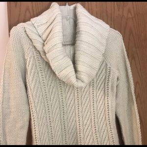 The Limited Cream Scandal Sweater